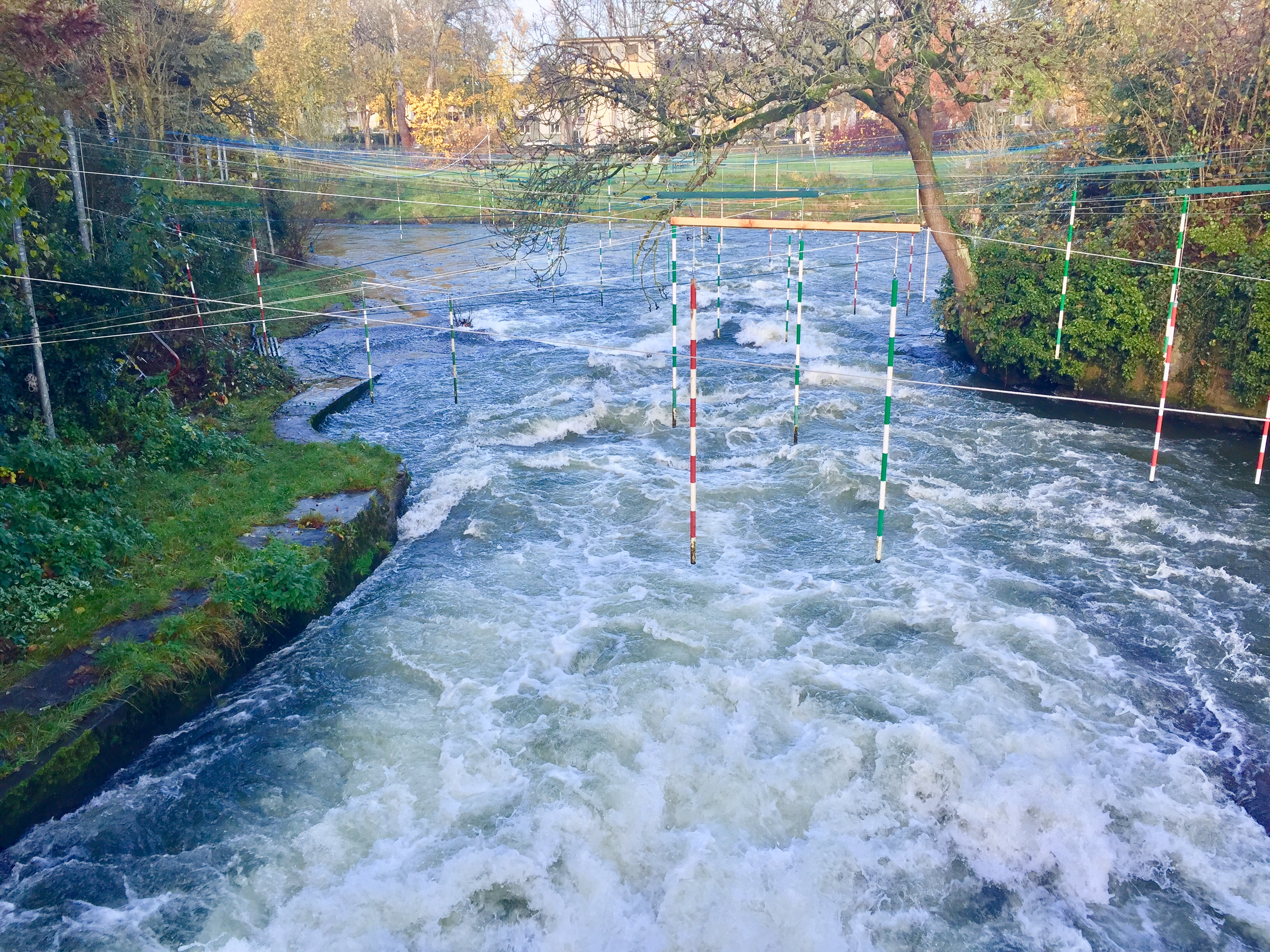 Kajak fahren Lippstadt Lippe Wildwasser