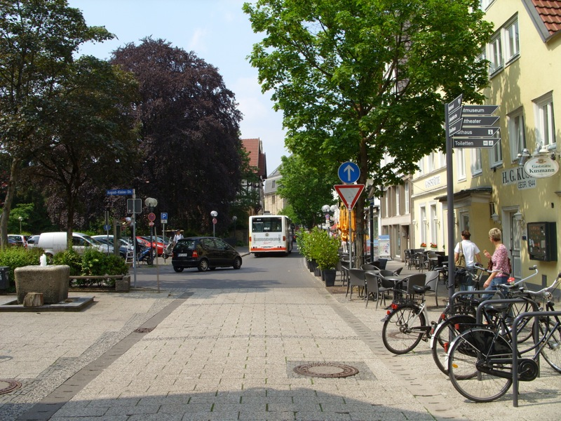 city tour Lippstadt - for english speaking travellers - hotel pension and appartements Haus Stallmeister