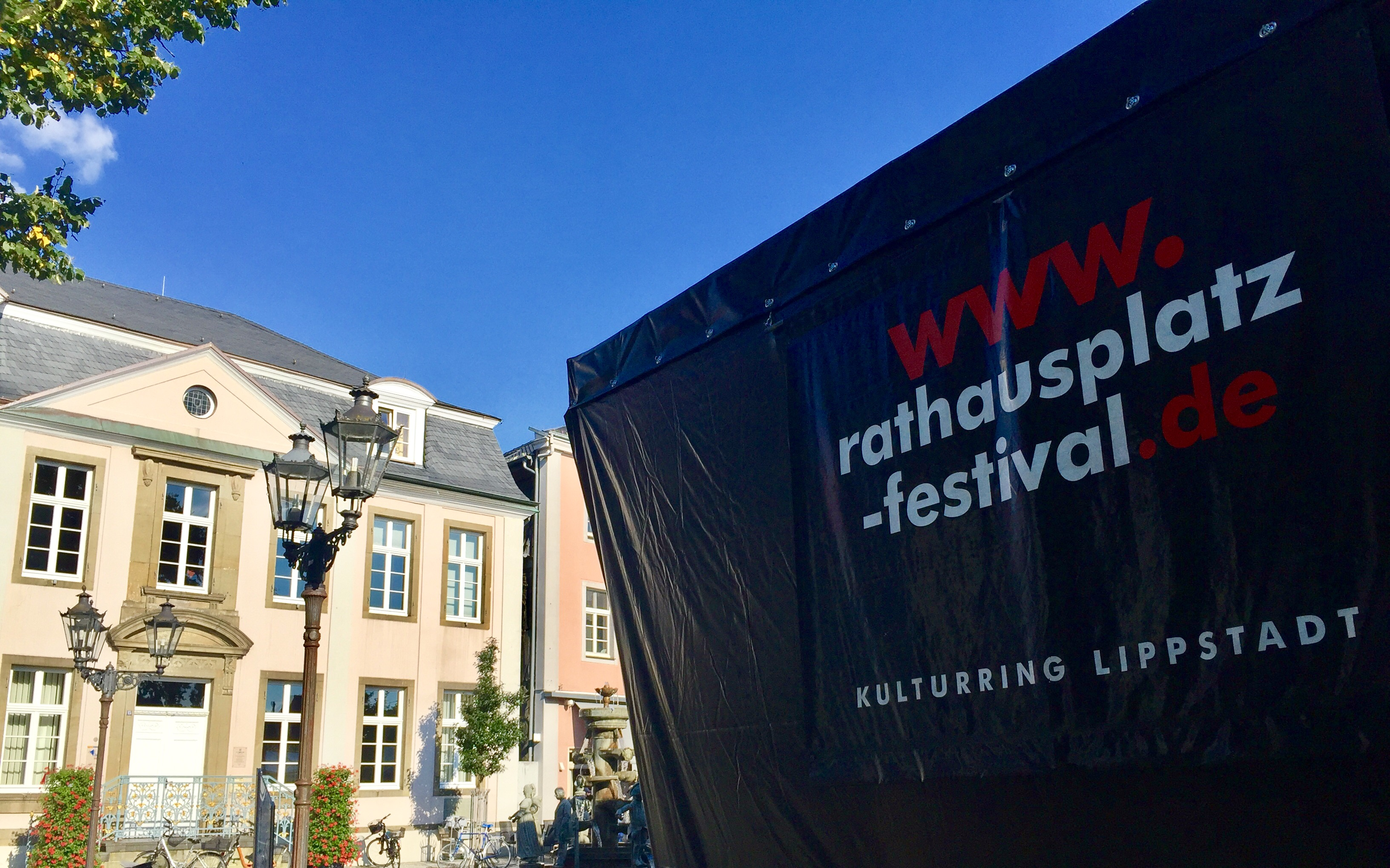 Rathausplatz-Festival 2018 in Lippstadt - Hotel Pension & Appartement Haus Stallmeister