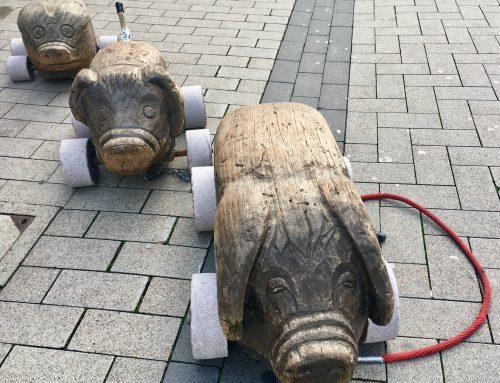 Holzschweine Lippstadt in der Nähe vom Hotel