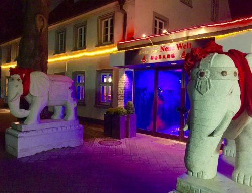 Chinarestaurant Neue Welt in der Nähe vom Hotel
