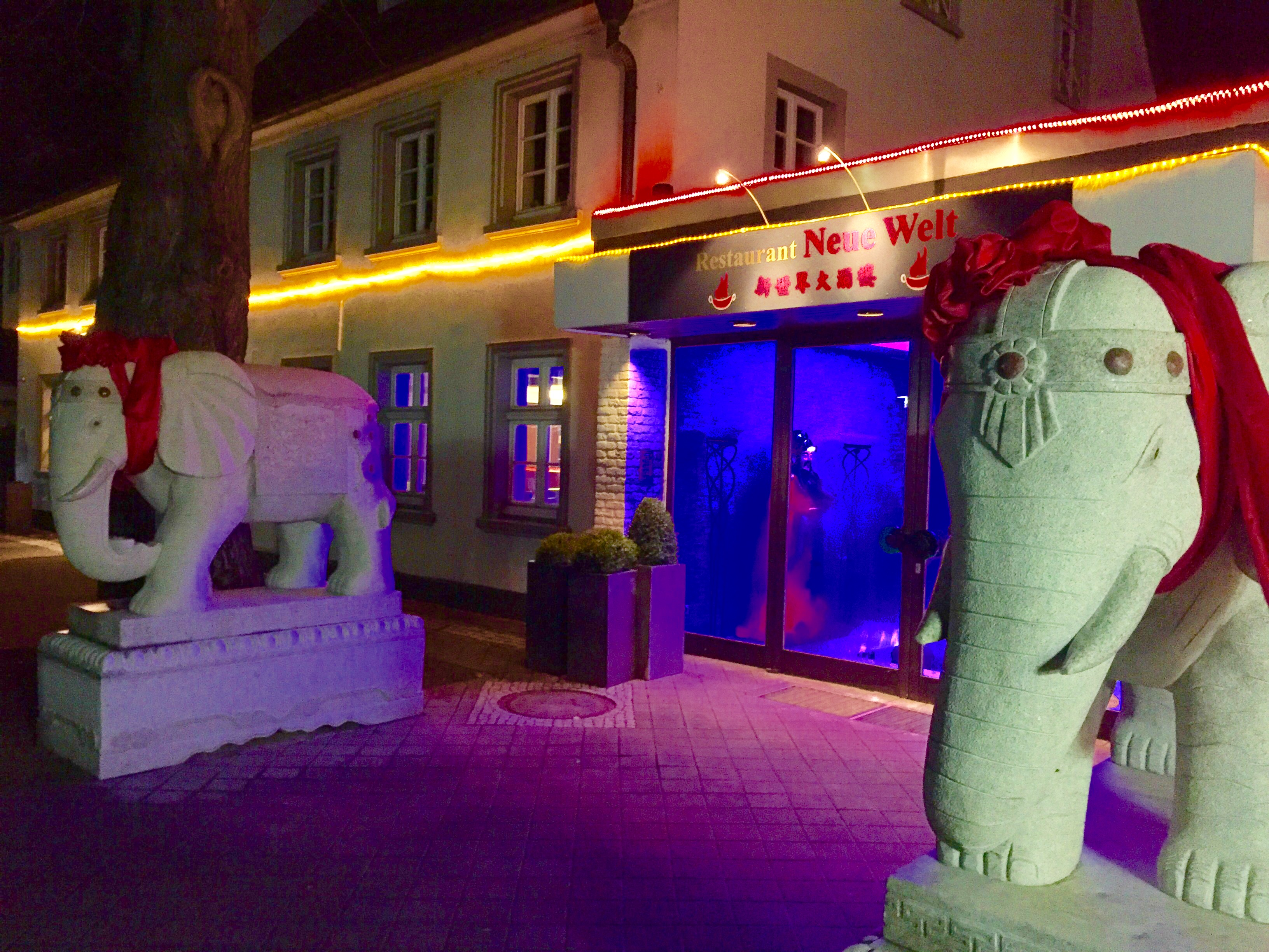 Chinarestuarant Neue Welt in Bad Waldliesborn - Hotel Pension & Appartement Haus Stallmeister