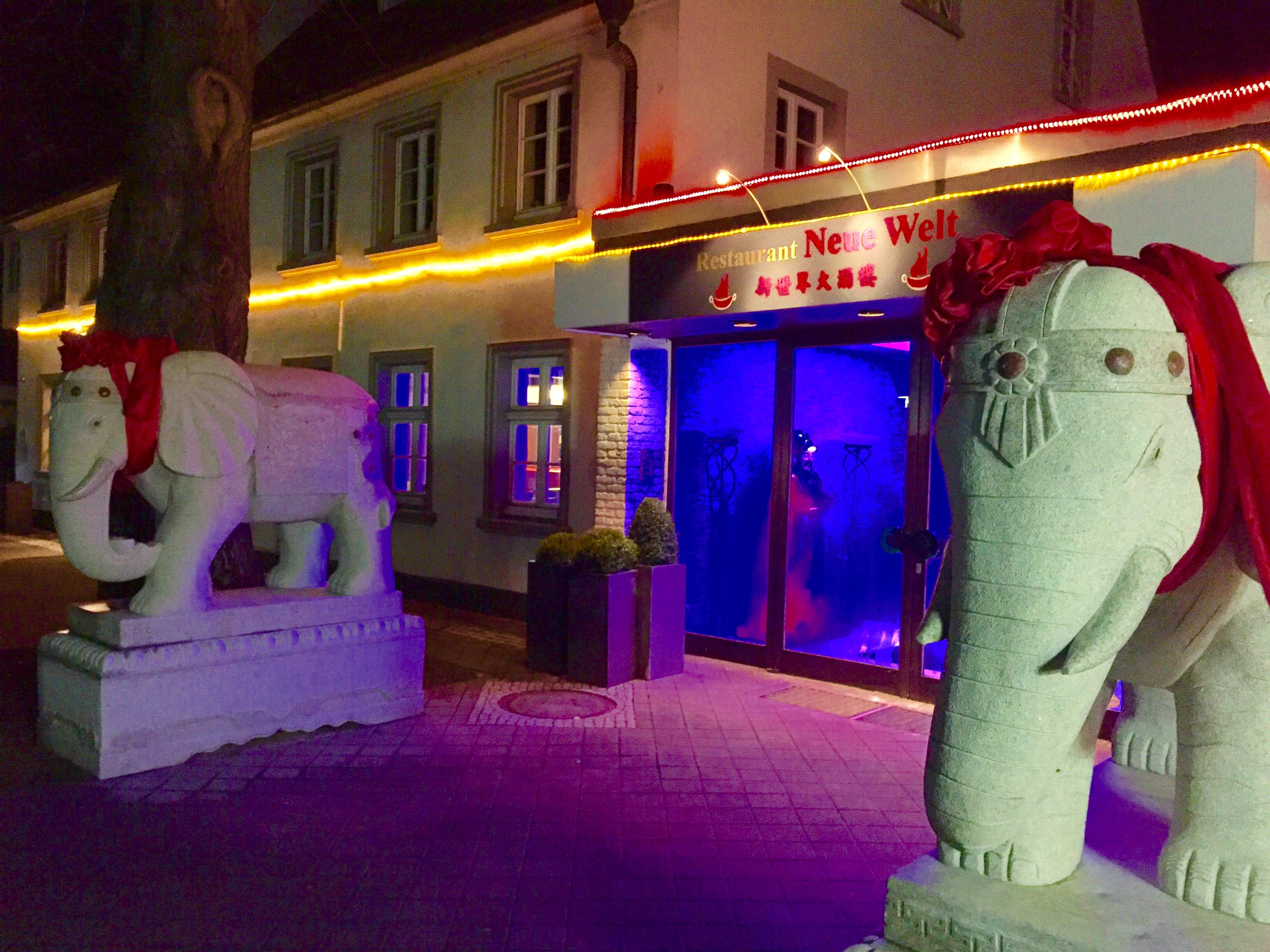 Chinarestuarant Neue Welt in Bad Waldliesborn - Hotel Pension & Appartement Haus Stallmeister