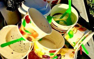 Eis essen in Lippstadt in der Nähe vom Haus Stallmeister