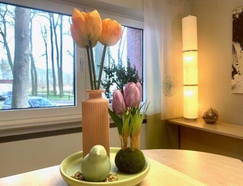 Frühlingsdekoration im Haus Stallmeister